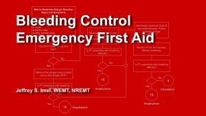 Free Virtual Training - Bleeding Control Course