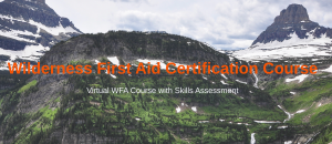 Virtual Wilderness First Aid Certification Course with Skills Assessment